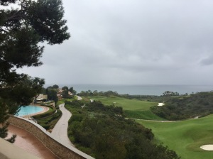 View from the Resort at Pelican Hill